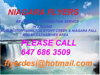 FLYER DELIVERY IN ST.CATHARINES