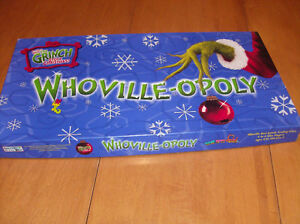 Whoville-opoly-Christmas Monopoly-Whovilleopoly London Ontario image 1