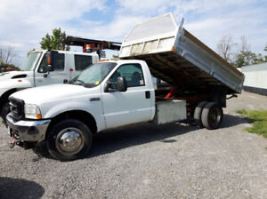 Ford F450 SuperDuty with plow