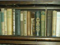 Books for sale English literature 1920s