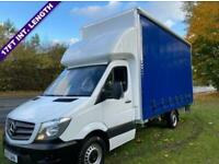Mercedes Sprinter 314Cdi 3.5t Euro 6 3.5t. New 17ft x 9ft High Curtain Side Body