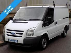 60(10) FORD TRANSIT 280 SWB LOW ROOF 2.2 FWD 85 BHP DIESEL * NO VAT *