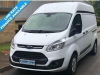 15(15) FORD TRANSIT CUSTOM TREND L2H2 310 LWB HIGH ROOF 2.2 125BHP EURO 5