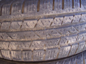 Continental 225 65R 17 all season CRV RAV4 SUV tires