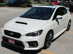 2018 SUBARU WRX  LIMITED NAVIGATION 6 SPEED 8500 KILOMETERS