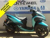 2018 18 YAMAHA MW125 TRICITY BLUE / TURQUOISE - BRAND NEW! - PRE REGISTERED! - 1