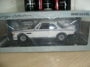 1/18 diecast neufs NIB.   BMW 3.0 CSL