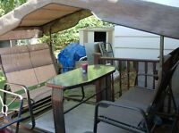 beautifull dual swing chair