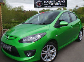2010 MAZDA 2 1.3 TAMURA 5DR - 2 OWNERS - £30 TAX - S/HISTORY - GREAT SPEC