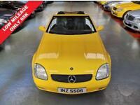 1998 R MERCEDES-BENZ SLK SLK230 KOMPRESSOR 2.3 2D AUTO