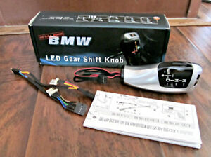 RACING DASH - BMW LED AUTOMATIC GEAR SHIFT KNOB - LEFT HAND -NEW
