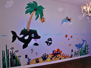 Customized Baby Nursery and Children's Murals