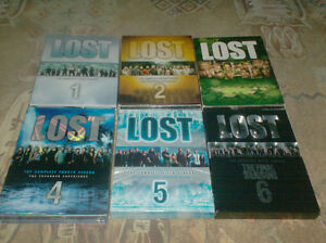 All 6 Seasons of LOST (Located in Sussex)