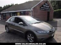 2006 56 HONDA CIVIC 2.2 SE I-CTDI 5 DR LEATHER DIESEL