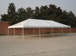 Tents, folding chairs and party rental items for sale