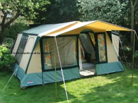 Cabanon Athena large canvas tent with canopy and toilet extension for sale  St Ives, Cambridgeshire