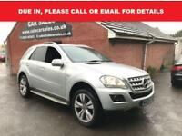 2009 59 MERCEDES-BENZ M CLASS ML300 CDI BLUEEFFICIENCY SPORT 5DR AUTO DIESEL
