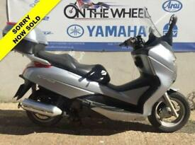 2007 57 HONDA FES 125 S-WING SILVER - SPARES OR SALVAGE - PART EX BARGAIN!