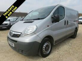2013 13 VAUXHALL VIVARO 2.0 2900 CDTI SWB ECOFLEX 115 BHP WITH TAILGATE AND AIR