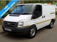 59(09) FORD TRANSIT AWD 330 SWB LOW ROOF 2.4 4WD 4X4 140 BHP 6 SPEED