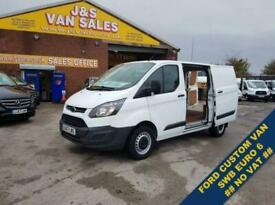 2017 Ford Transit Custom T290 SWB EURO 6 1 OWNER VAN F.S.H NO VAT PANEL VAN Di
