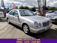 1998 MERCEDES E300 AVANTGARDE TURBO DIESEL AUTOMATIC 4DR