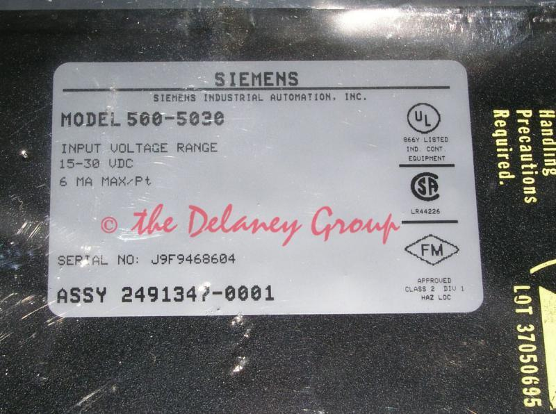 New Siemens Texas Instruments Model 500-5030 5005030