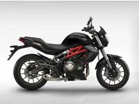 2018 BENELLI BN302. 8.9% APR.93.77 OVER 48M WITH A 199 DEPOSIT