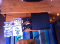 PS3 and controllers and games