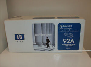 Less than 1/2 Price NEW Hp Laser jet 92A Toner Series 1100-3200