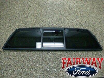 04 thru 14 Ford F-150 OEM Genuine Ford Power Rear Sliding Window Glass Kit NEW