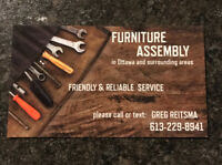~~FURNITURE ASSEMBLY ~~