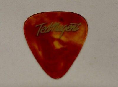 Vintage Ted NugentGuitar pick from 1977 Tour Brown