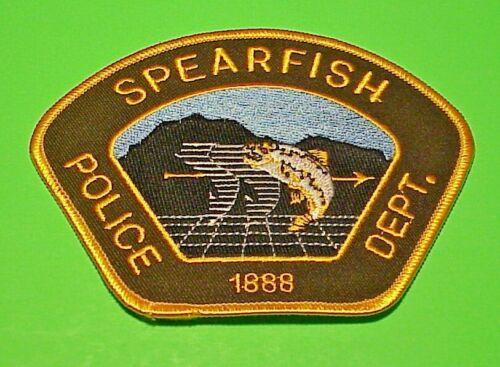"SPEARFISH  SOUTH DAKOTA  1888  SD  3 3/4""  POLICE PATCH   FREE SHIPPING!!!"