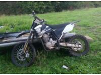 Smc 150cc 4 stroke crosser not pit bike scrambler field bike