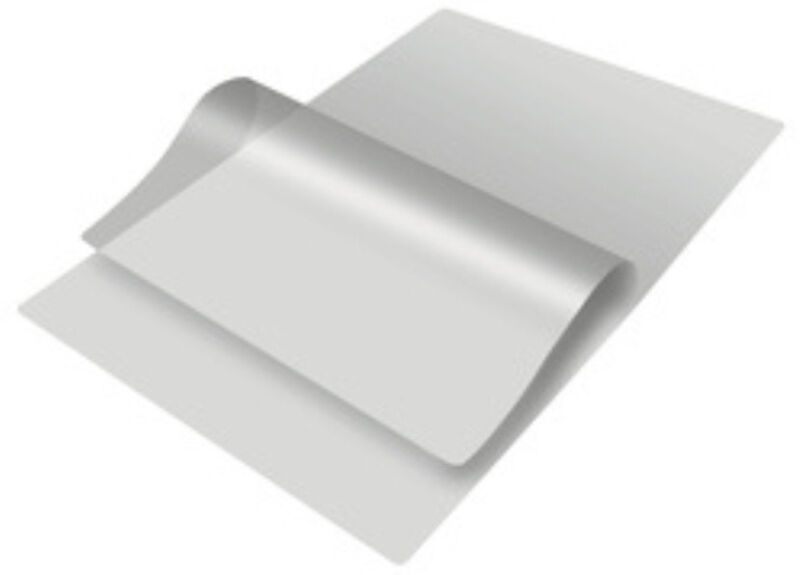 3 Mil Letter Size Crystal Hot Laminating Pouches 8.5 x 11 inch Sheets 200 Pack