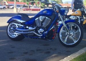 Jackpot custom cruiser motorcycle