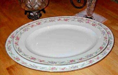 Antique C.Ahrenfeldt Limoges Koch & Braunstein France Depose China Platter Set for sale  Valrico