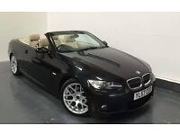 BMW E93 325D, 330D M Sport Convertible Black, E90, E92, E93