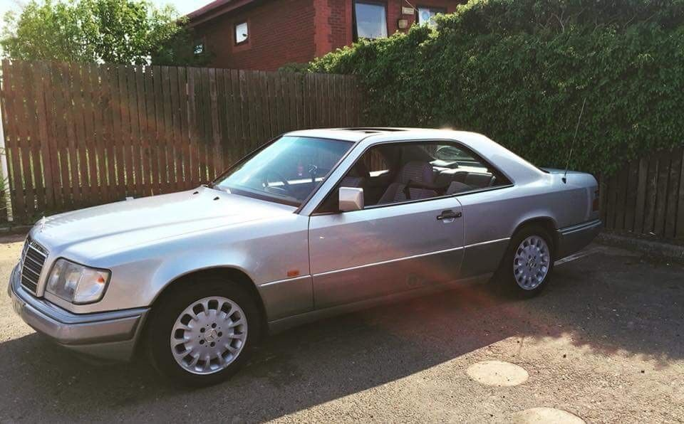 Mercedes W124 Coupe 4000 Spent In Last 2 Years In Scunthorpe