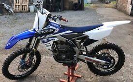 Yamaha YZF250 not crf kxf sxf rmz WILL PX FOR 16+ YZ250
