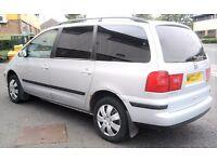 02 Seat Alhambra 1.9 Tdi 7 seater LONG MOT FULL SERVICE LONG MOT (GALAXY SHARAN PICNIC ZAFIRA)
