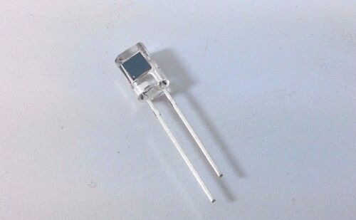 100 OSRAM SFH 206K Photodiode 5mm 850nm Mounting THT Multi Topled 2mA 400-1100nM