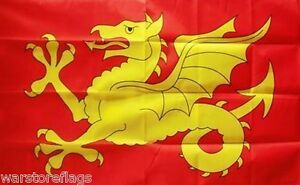 WESSEX Anglo Saxon England FLAG 5X3 ENGLISH HISTORICAL