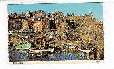 Postcard. Crail Harbour. Fife