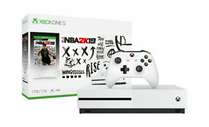 Microsoft Xbox One S 1TB NBA 2k19 Console Bundle - White for