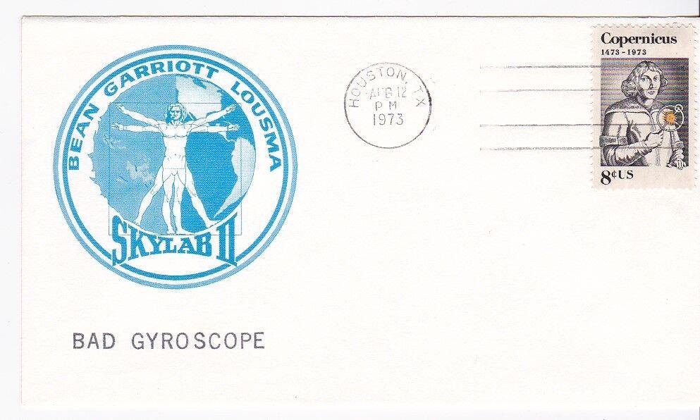 SKYLAB II BAD GYROSCOPES HOUSTON TEXAS AUG 12 1973