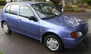 1997 Toyota Starlet Hatchback Torrens Woden Valley Preview