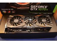 Gigabyte Nvidia Geforce GTX 1070 Ti 8GB Graphics Card GPU