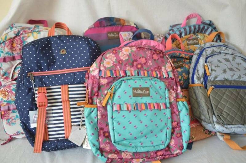 NWT Matilda Jane Clothing Backpacks make the grade all the homework moments with